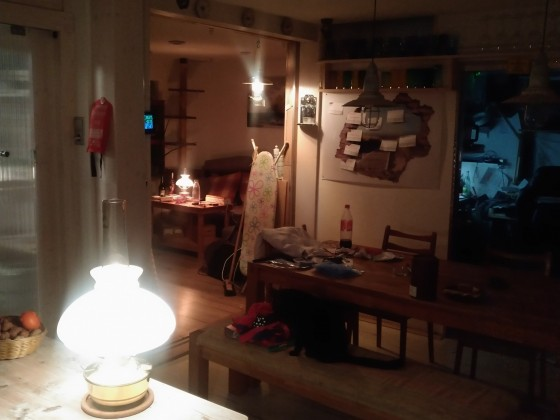 Romanische Beleuchtung