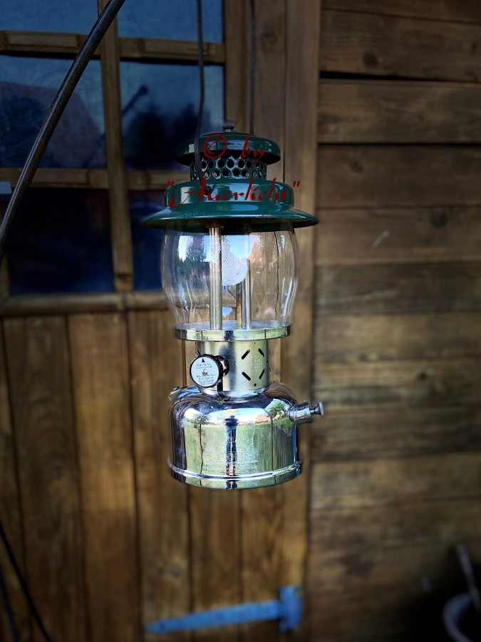 "Coleman 236 ""Major"" Gasoline Lantern ( 1/50 )"