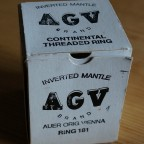 AGV Inverted Mantle Auer Orig. Vienna Ring 181