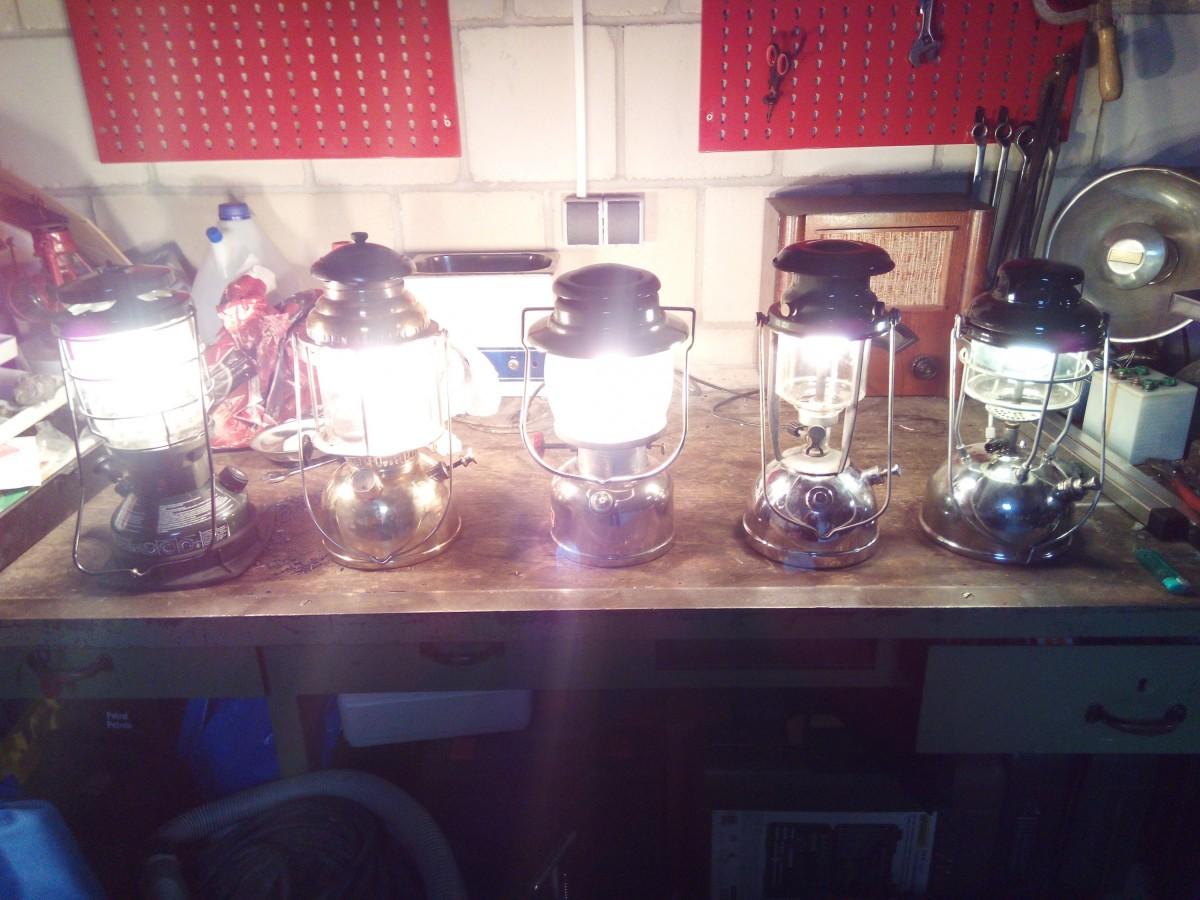Es werde Licht... Tilley, Vapalux, Hasag & Coleman