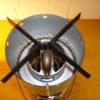 Kochaufsatz am Radiator Draufsicht