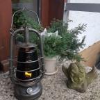 Feuerhand Nr. 201 mit schwarzem Glas