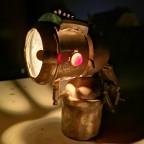 Karbidlampe für Zweirad