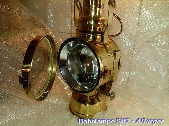 SH2 - Bahnwärter- / Signallampe