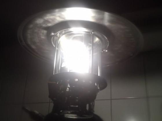 Meine Funzel leuchtet ... *froi*
