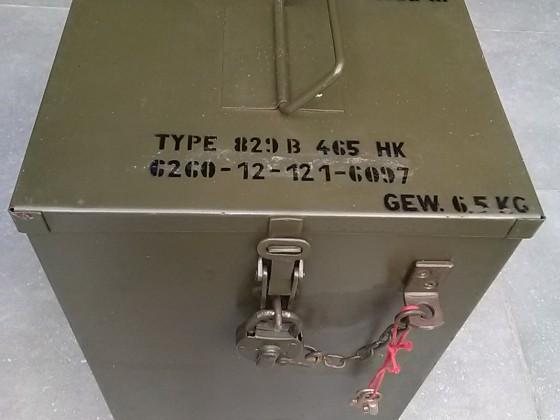 Bundeswehr Petromax 829B/500HK.